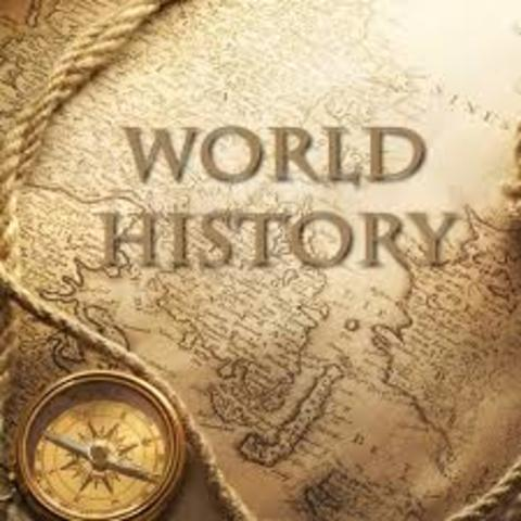 End Of The Year Project World History Timeline