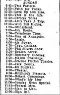 WBTV Television Schedule