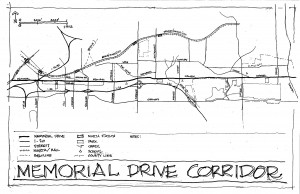 Memorial Drive planners face mash-up of serene homes
