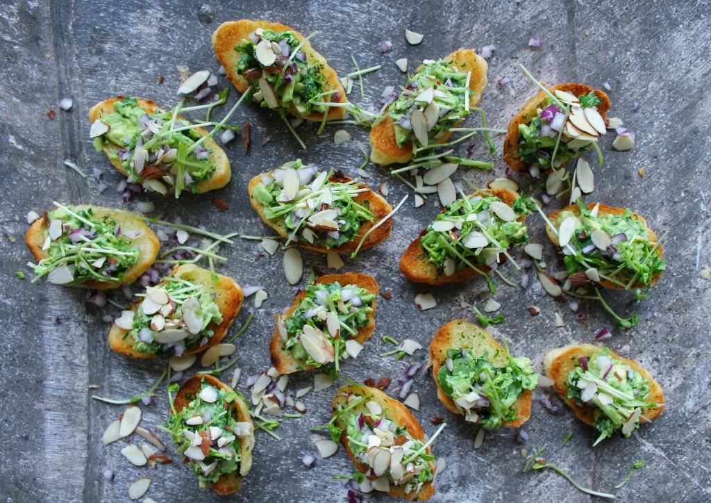 Garlic Avo Bites