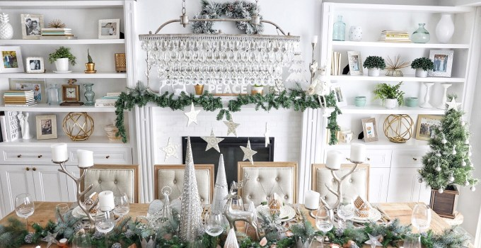 A Simply Beautiful Holiday Tablescape