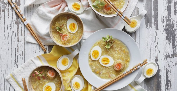 Better than Takeout Egg Drop, Sweet Corn & Crab Soup