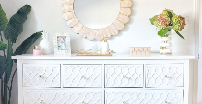 "A Simply Beautiful Dresser with ""My O'verlays"""