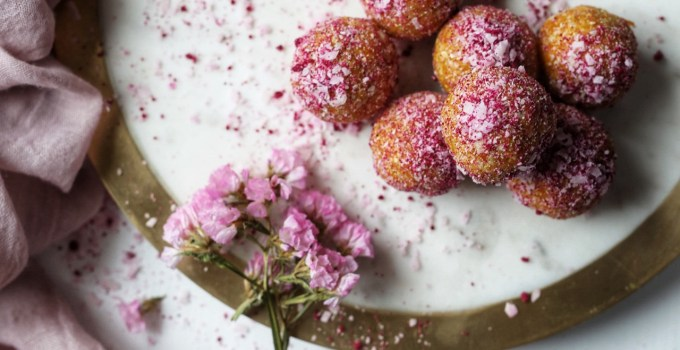 Vegan Nut-Free Apricot, Carrot and Date Protein Balls
