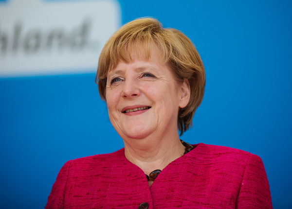 Germany's Chancellor Angela Merkel, above, has been the one main voice pushing for more assitance to refugess fleeing the Syrian Crisis. Few other nations have been fighting for humanity efforts to the same extent as Merkel. PHOTO CREDIT: ALEXANDER KURZ