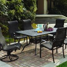 Outdoor Resin Wicker Patio Dining Set