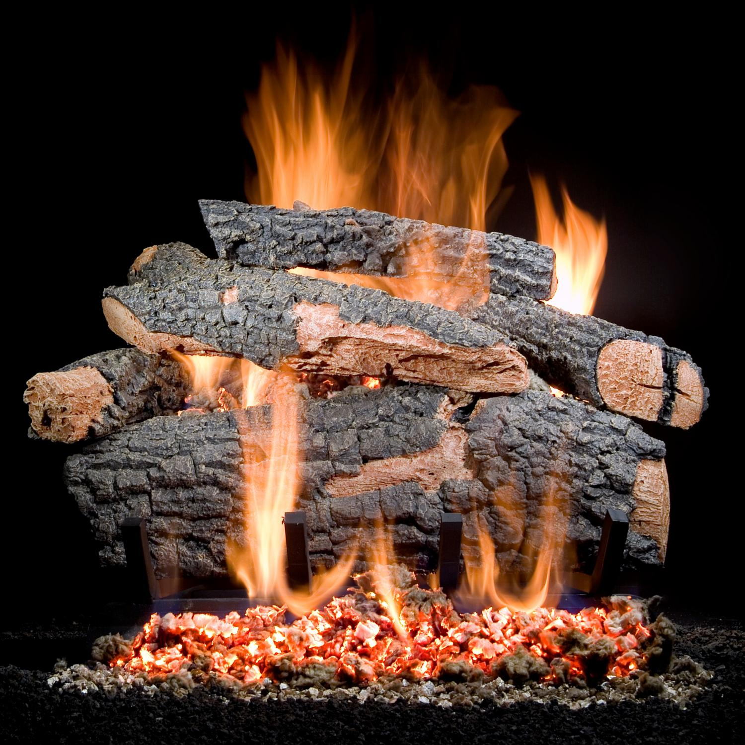 Golden Blount 36 Inch Big Tex Vented Natural Gas Log Set