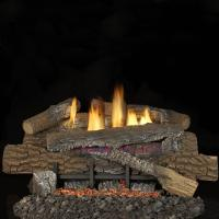 Superior Fireplaces 24-inch Boulder Mountain Gas Logs With ...
