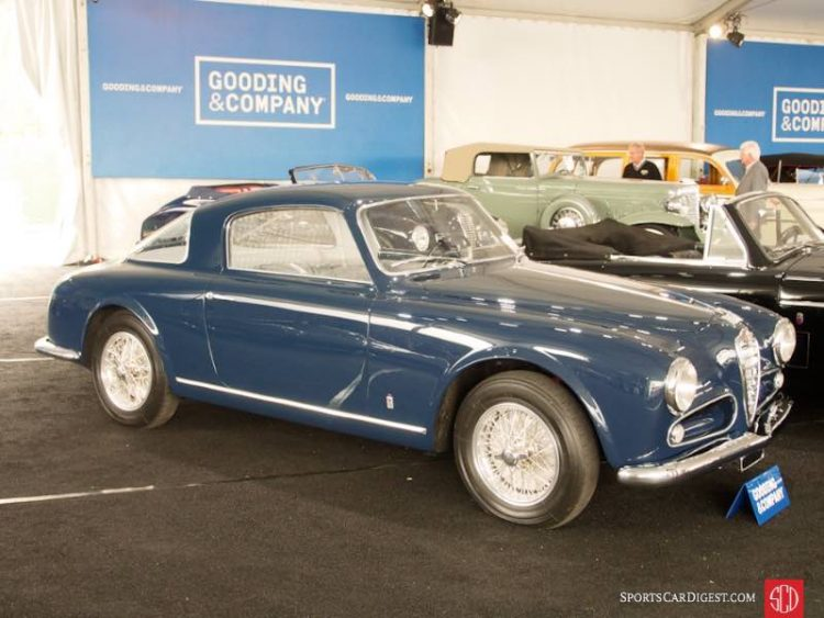1954 Alfa Romeo 1900C Sprint Coupe, Body by Pinin Farina