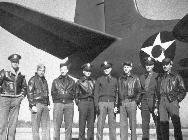 John's unit, the 15th Bombardment Squadron was the first Americans in Europe. He participated in the first U.S. bombing raid over occupied France on July 4, 1942. He flew more than 50 bombing missions.