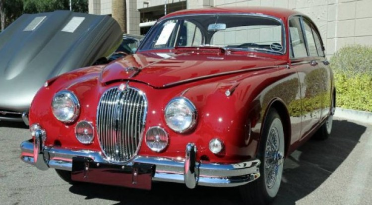 1962 Jaguar Mark 2 3.8 4-Dr. Sedan