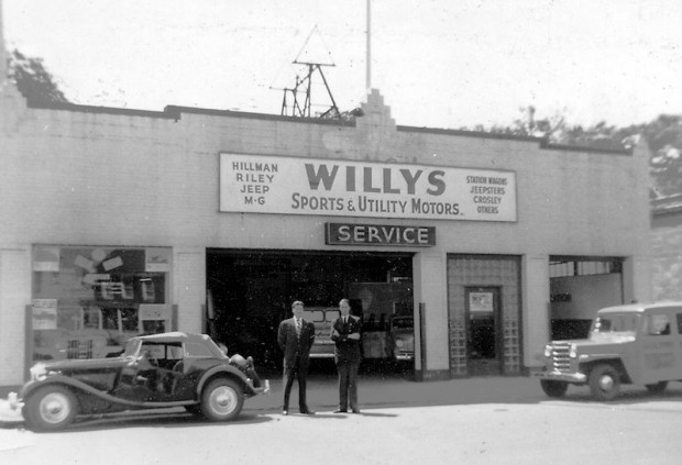 Kathleen was killed in a plane accident in 1948, so John moved to New York where he operated an MG shop in a Willys dealership in White Plains, NY.