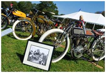 Motorcycles at 2009 Fairfield County Concours