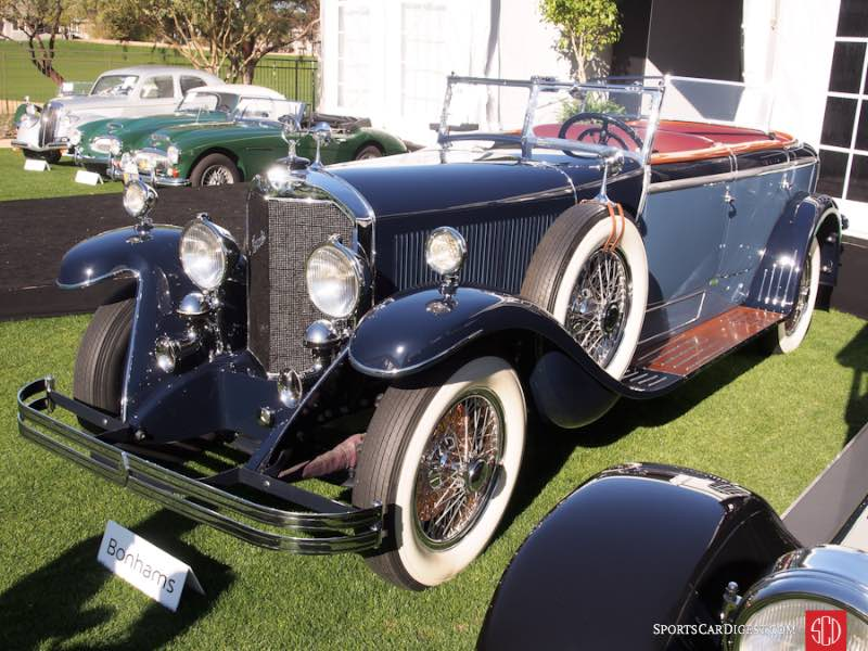 1928 Mercedes-Benz 630K Transformable La Baule, Body by Saoutchik