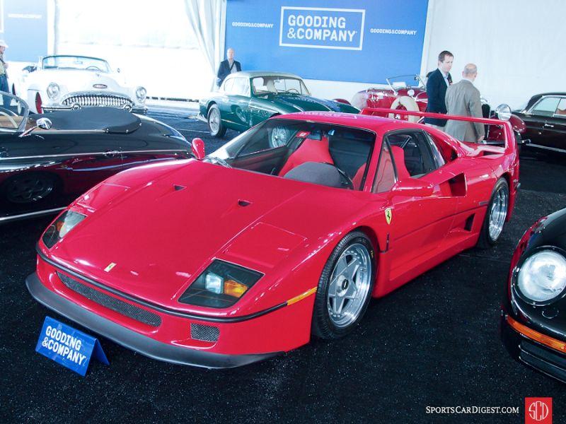1990 Ferrari F40 Coupe, Body by Scaglietti