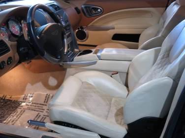 2004 Aston Martin Vanquish V12 interior