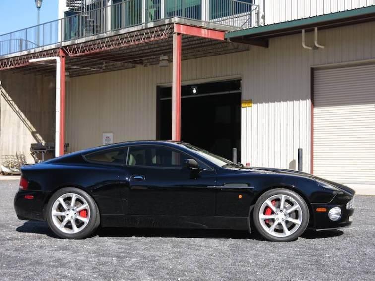 2004 Aston Martin Vanquish V12 profile