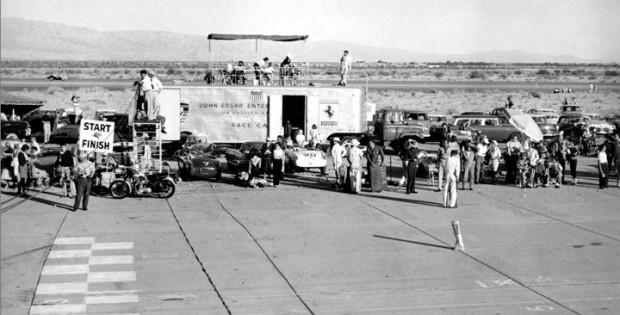 John Edgar Enterprises race car hauler