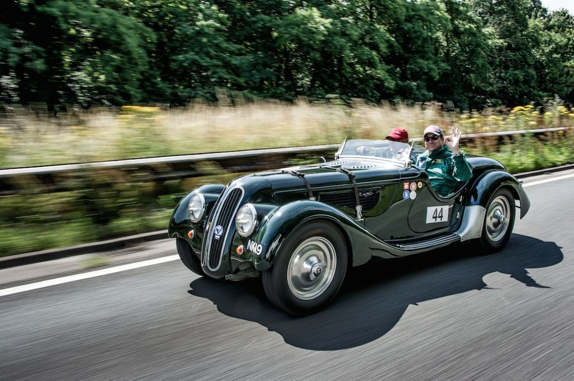 1938 BMW-Frazer Nash 328