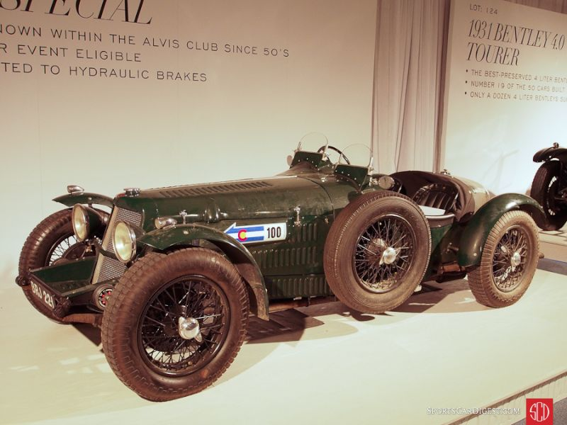 1940 Alvis 12/70 Special Sports