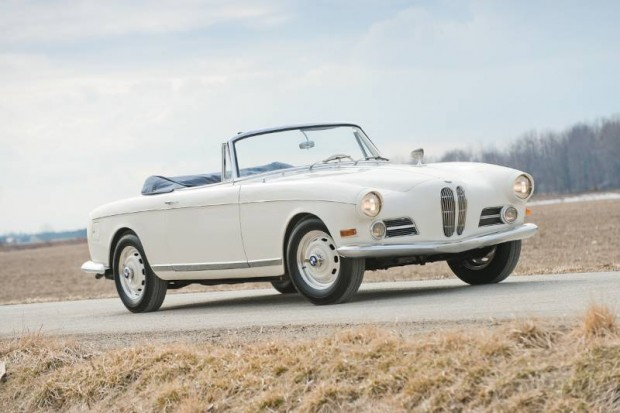 1957 BMW 503 Cabriolet, Body by Bertone