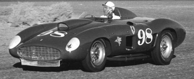 Carroll Shelby, Edgar Ferrari 410S, Juan Manuel Fangio
