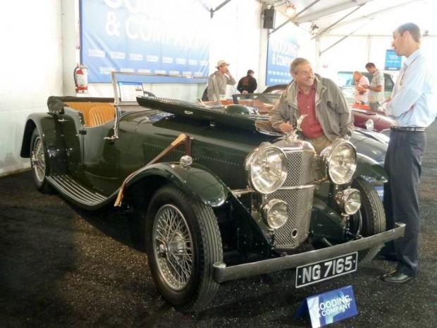 1934 Alvis Speed 20 SB Tourer