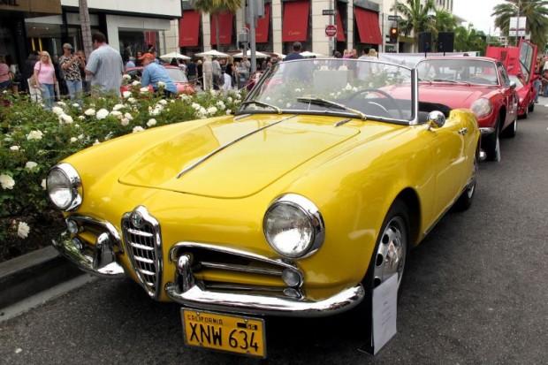 1956 Alfa Giuletta Spider
