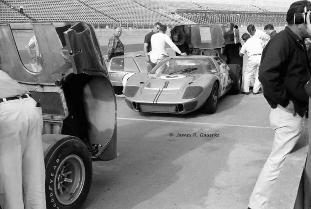 The Ford GT40 Mk. II of Lloyd Ruby and Denny Hulme.  Like most of the Ford entries it failed to finish due to a broken transmission.