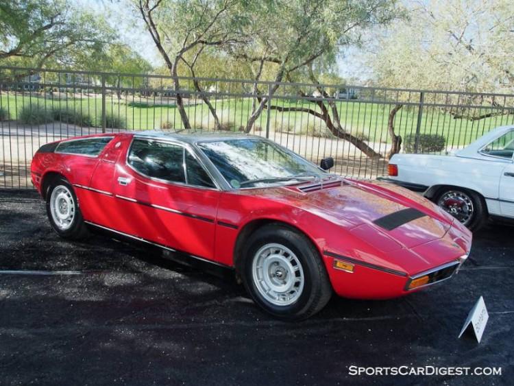 1978 Maserati Bora 4.9 Coupe, Body by Giugiaro