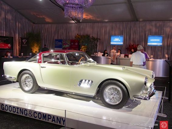 1957 Ferrari 410 Superamerica SII Coupe (open headlight), Body by Pinin Farina