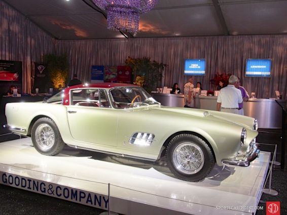 1957 Ferrari 410 Superamerica SII Coupe (open headlight), Body by Pinin Farina