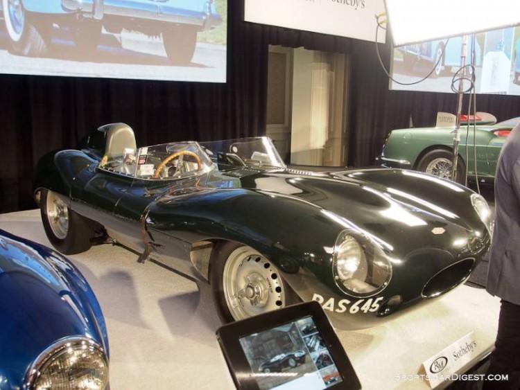 1955 Jaguar D-Type Sports Racer