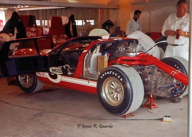 A.J. Foyt Dan Gurney Mercury GT40 Mk. II Daytona 1967 photo
