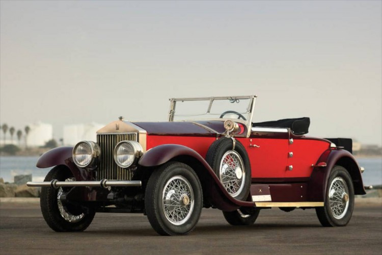 1928 Rolls-Royce Phantom I Special Roadster, Body by Hibbard & Darrin