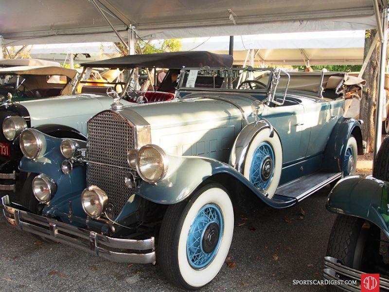 1930 Pierce-Arrow Model B Tonneau Cowl Phaeton