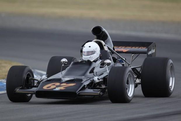 Lotus 70 of Dave Arrowsmith
