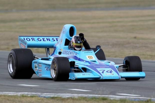 Gurney-Eagle FA74 driven by Michael Lyons