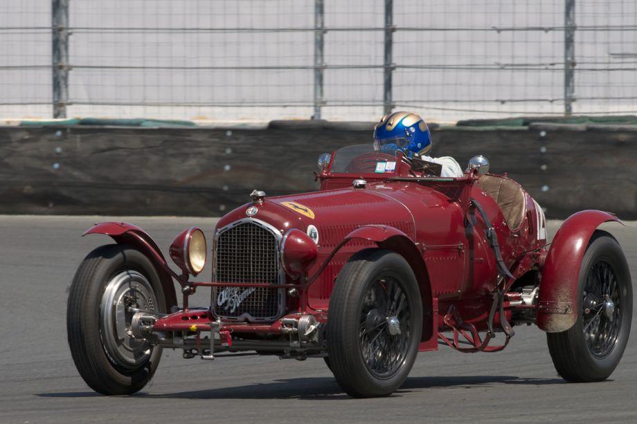 1932 Alfa Romeo P3 driven by Greg Whitten in eleven.