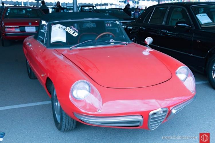 1967 Alfa Romeo Giulia Duetto Spider, Body by Pininfarina