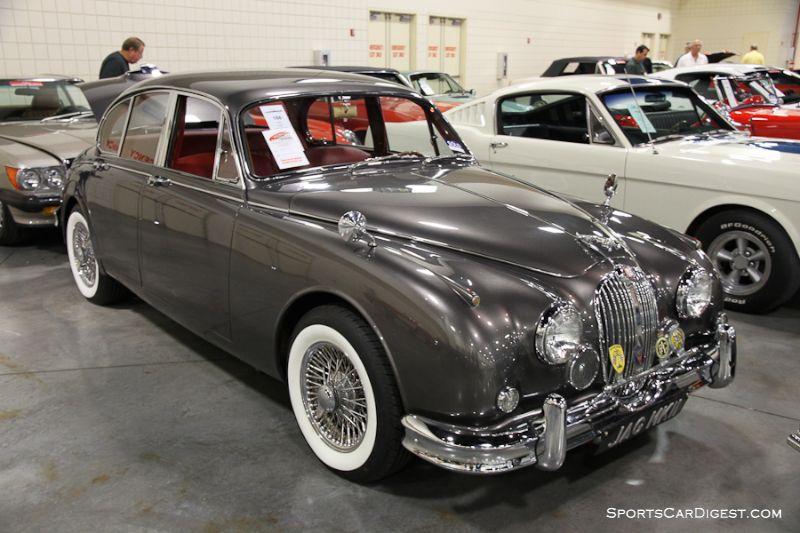 1961 Jaguar Mk 2 3.8 4-Dr. Sedan