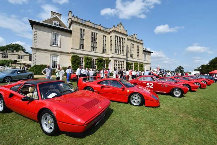 Ferrari Owners Club Great Britain Concours 2015