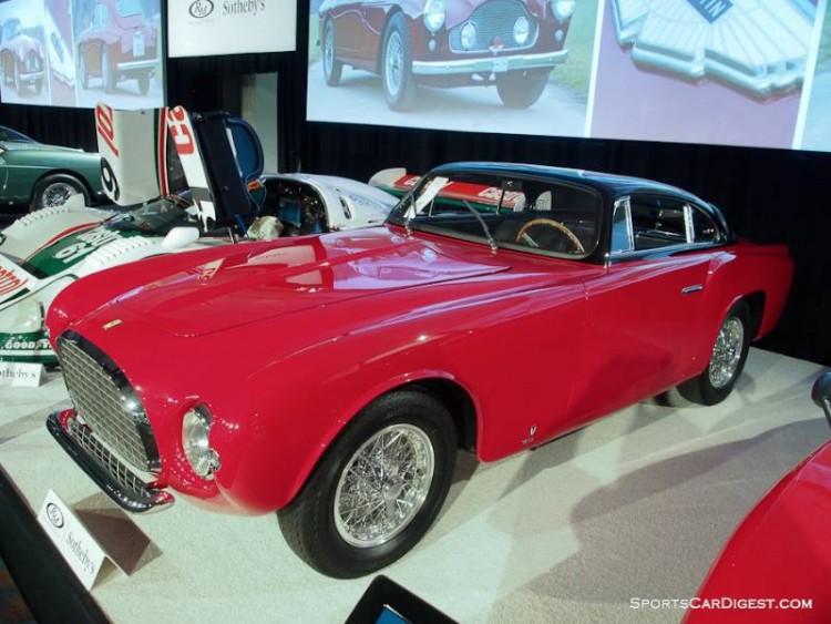 1953 Ferrari 212 Europa Coupe, Body by Vignale