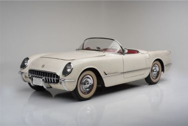 "1954 Chevrolet Corvette Convertible ""Entombed Corvette"""