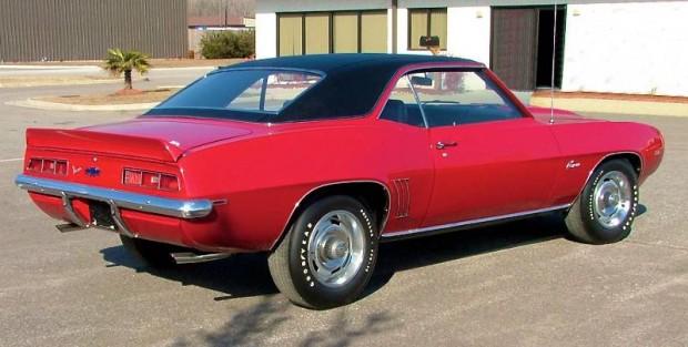 1969 Chevrolet Camaro Berger COPO