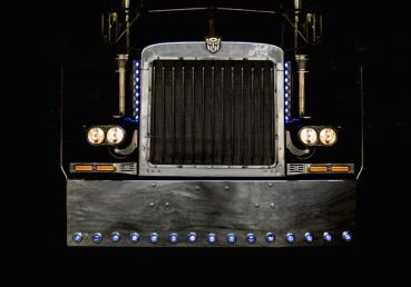 "1992 Peterbilt 379 ""Transformer's Optimus Prime"" Stunt Truck"
