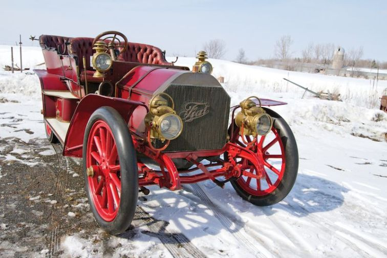 1905 FIAT 60HP Five-Passenger Front