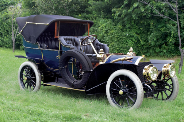 <strong>1907 Peugeot Type 92D Double Phaeton – Estimate $350,000 - $450,000.</strong> Coachwork by Labourdette of Paris with retractable Victoria Top; original engine, body and chassis.
