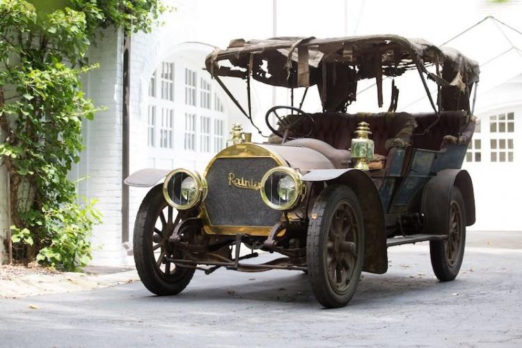 1908 Rainier Model D 45/50hp Seven Passenger Touring