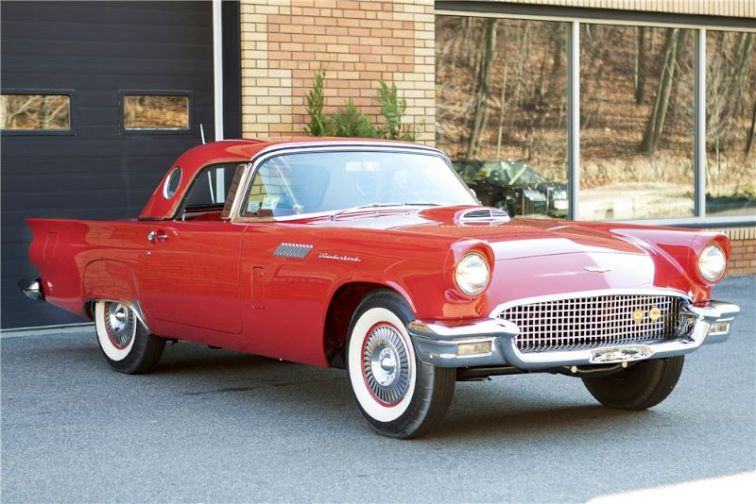 1957 Ford Thunderbird F-Code Convertible